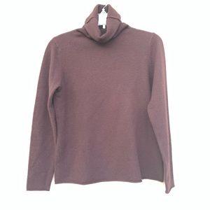 Eileen Fisher: 100% cashmere turtleneck sweater